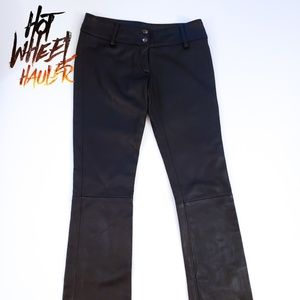 Wilsons Leather Maxima Black Leather Pants